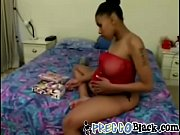 A horny pregnant black chick enjoys hardcore threesome fuck with two studs Thumbnail