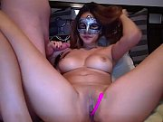 masked cam-slut and a tiny dick.