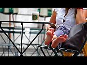 Cams4free.net - Blonde Candid Soles at Starbucks