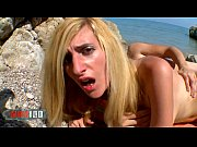 spanish busty babe eli tetona fucked at the beach