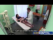 brunette patient inga gets rammed by her doctor.