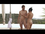 Asian Interracial Outdoor Fun