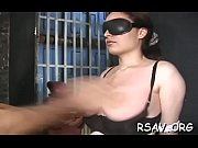incredible bdsm act with breathtaking babe.