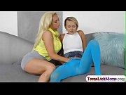 Teen Pressley having sex with stepmom
