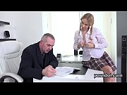 Fervid schoolgirl is seduced and shagged by her older teacher