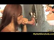 Blowjob Gloryhole With A Nasty Ebony 16