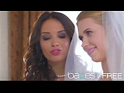babes - naked nuptials featuring (anissa kate, violette.