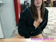 can you see she cums inlibrary - live.