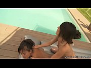 two girls one nuru massage
