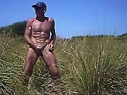Cock slap outdoor erection nude walk