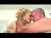 big boobed plumper sinful samia sucks a cock.