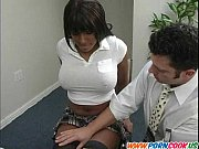 Beautiful ebony teen slut Thumbnail