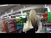 Exquisite czech girl gets seduced in the hypermarket and shagged in pov