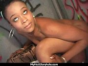 Gloryhole Ebony Girl Booty Shake and Suck 30