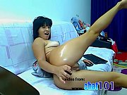 Gilf  cam Experienced girl attractively fucked herself in all slits on