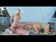 Mom and daughter threesome 0844