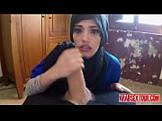 Dirty arab slut finds a place to stay along with some extra cash