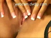 sexy blonde on webcam