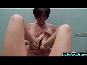 Hot Sex Between Mean Lezbo And Cute Girl Usinf Toys movie-14