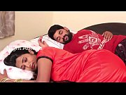 wife and husband romance in bed room scene hd