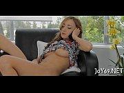 Teen adores sexy masturbation