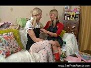 russian lesbian teen sisters strapon fun