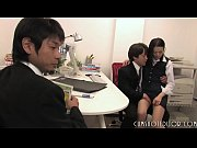 young japanese office slut enjoyed