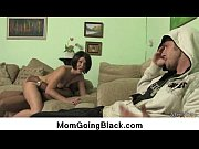 horny milf gets fucked real hard in interracial.