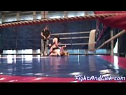 busty euro les pussylicked by wrestling.