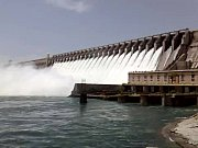 YouTube - Fun at nagarjuna sagar Dam 22 gates open