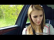 beautiful beatrix gets banged hard in the backseat.