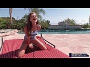 Sandra&#039_s poolside Sybian orgasms