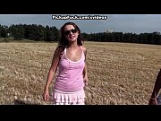 real pick up fuck with babe near the field