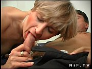 short haired french milf in stockings gets her.