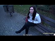 Stunning czech kitten is tempted in the mall and banged in pov