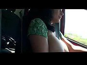 crazyamateurgirls.com - Donna Ambrose AKA Danica Collins - Driving flasher - crazyamateurgirls.com