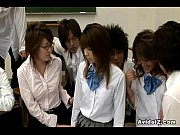 horny japanese teacher gets fucked and.