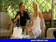Smoking hot blonde gets reamed out