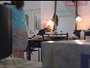 Ruskea vuoto raskaus vaimo saa vierasta
