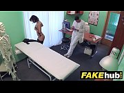 fake hospital czech doctor cums over horny cheating.
