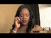 big tit ebony does a blow bang 8