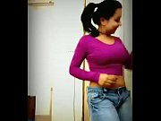 hot indian teen dancing