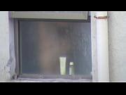 espiada desde el balcon
