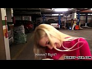 Pretty amateur blonde Eurobabe Ellen fucked for money