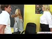 a big tits teacher threesome with julia ann.