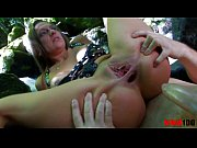 Slutty milf brutal fuck in her ass and pussy and making dirty deepthroats