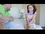 Innocent Teen with blue eyes in pigtails takes a big creampie from her step-brother who is &quot_training&quot_ her on how to take an internal creampie and how it&#039_ll help her sex life (Paisley Ra