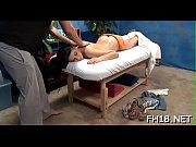 Hot eighteen year old girl gets drilled hard from behind by her massage therapist
