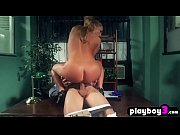 Horny MILF secretary fucks her coworker in the office