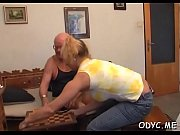 Old guy knows how to make a sweet juvenile pussy super wet